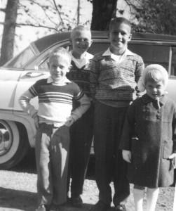 RHB Spencer, JR Spencer, TW Spencer, Mary Jane Fowler            ( Daughter of Bernie and Joann Fowler, granddaughter of Mary Jane Hamner (Aunt Mary and Uncle Beers Fowler)
