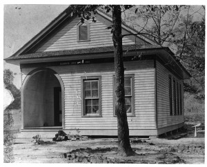 Flatwoods School was part of Harper District in 1907