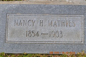 Mathies,Nancy H.
